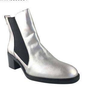 Silver Zara boots